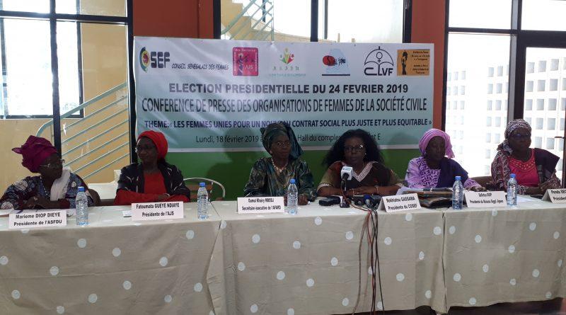 Pour un nouveau contrat social, les femmes de la société civile feront face aux candidats
