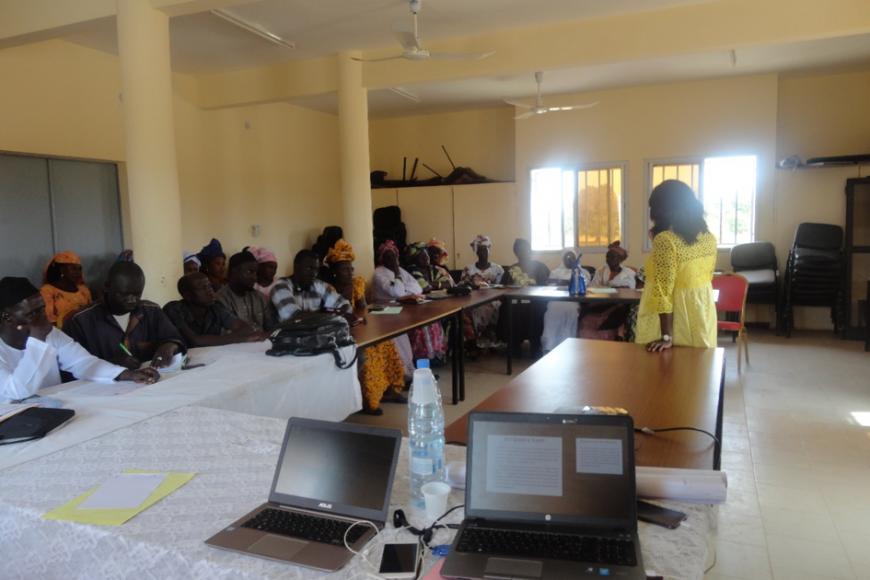 Séminaire de formation des conseillers municipaux sur la Démocratie, la participation et le contrôle citoyendans la commune de Soum