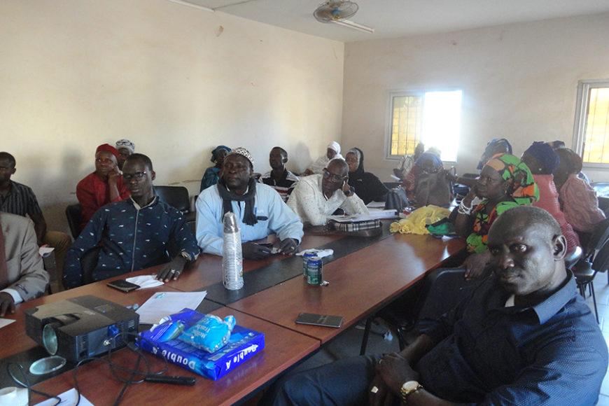 Séminaires de formation des élus locaux des communes de Diass et Sindia