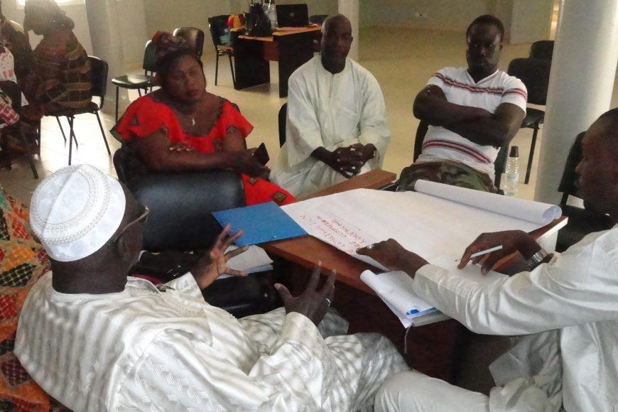 Mise en place des Espaces de Concertation Citoyenne (EC): exemple de la commune de Nguékhokh